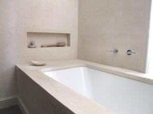 Tadelakt in badkamer
