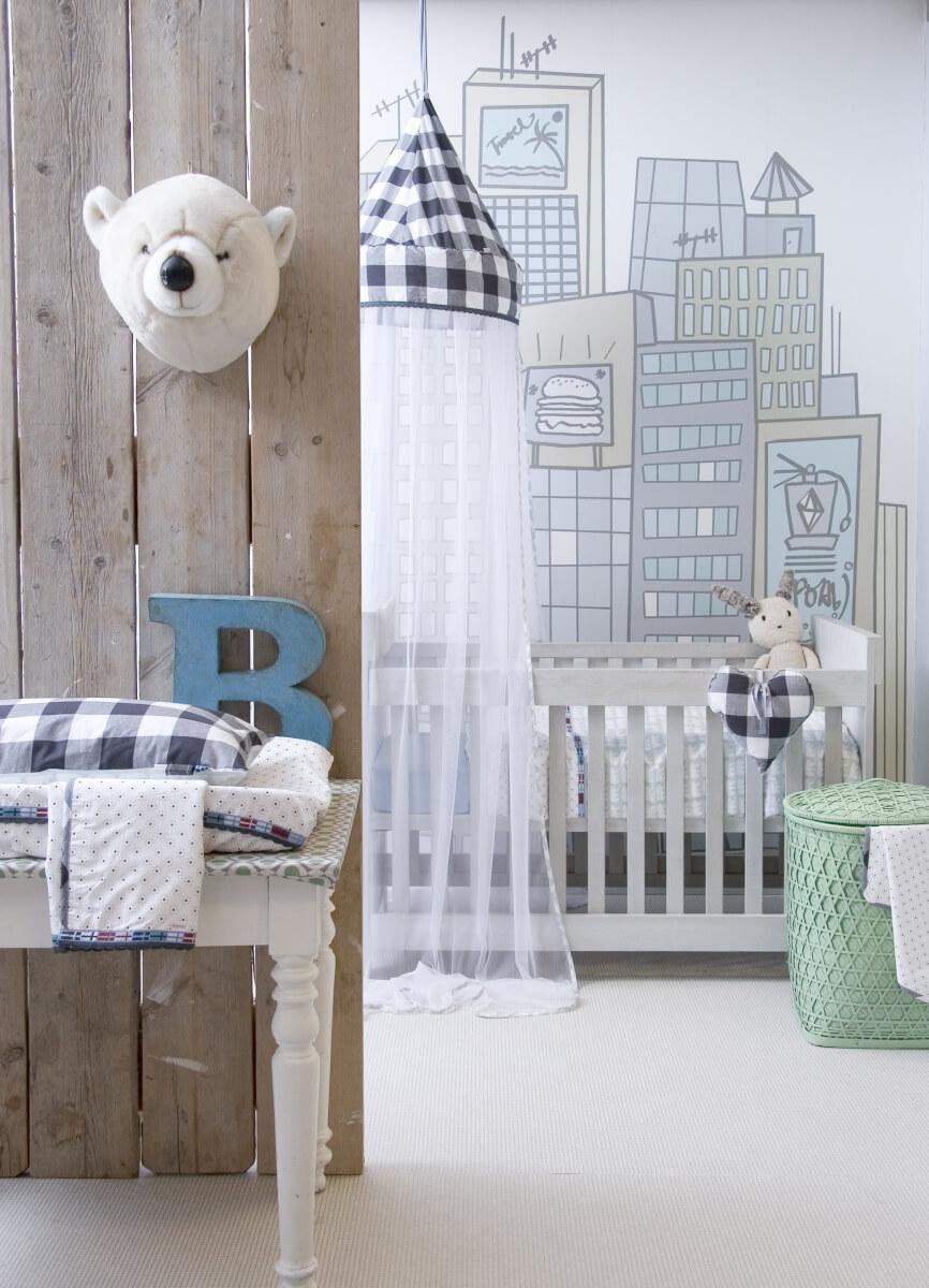 Kinderkamer inspiratie ik woon fijn for Decoratie peuterkamer