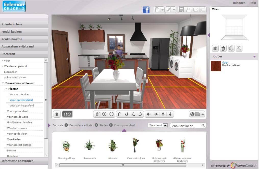 Online je huis inrichten 5 gratis tools - Hoe je een centrum eiland keuken te maken ...