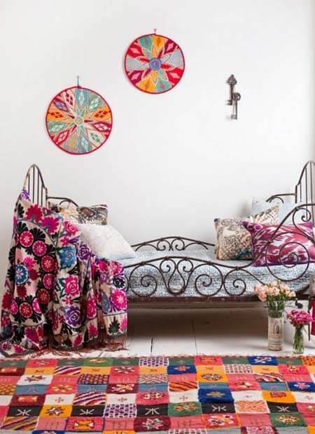 Bohemian slaapkamer woontrend 2013