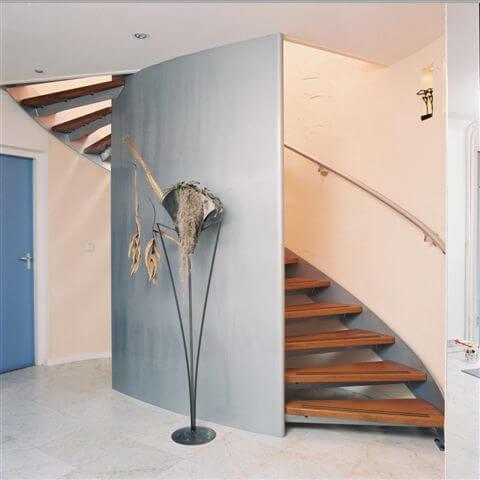 houten traptreden stijlvol