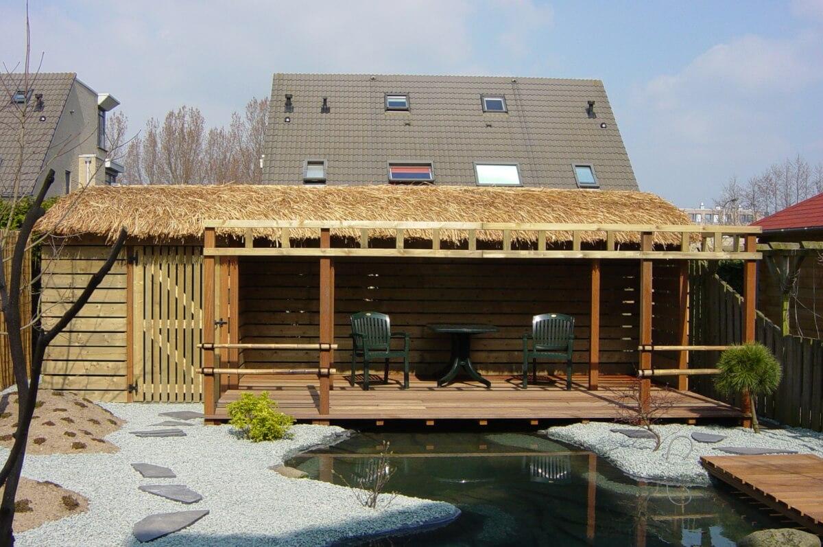 Dit tuinontwerp is gerealiseerd door Marc Smulders Tuinen .