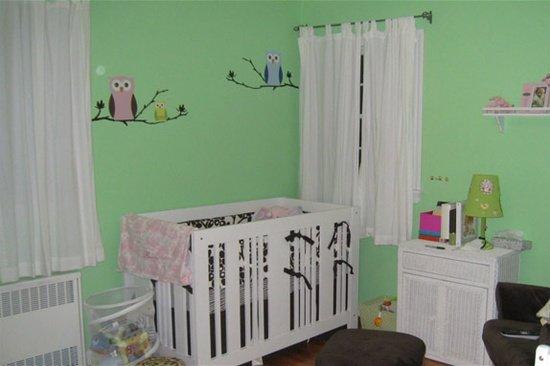 Woonkamer groen inspiratie - Verf babykamer ...
