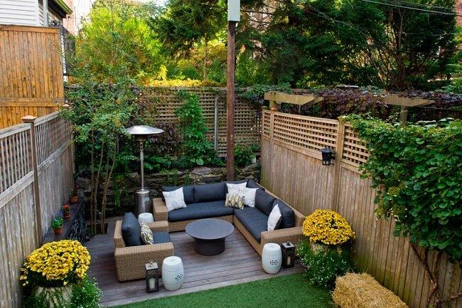 Smalle tuin