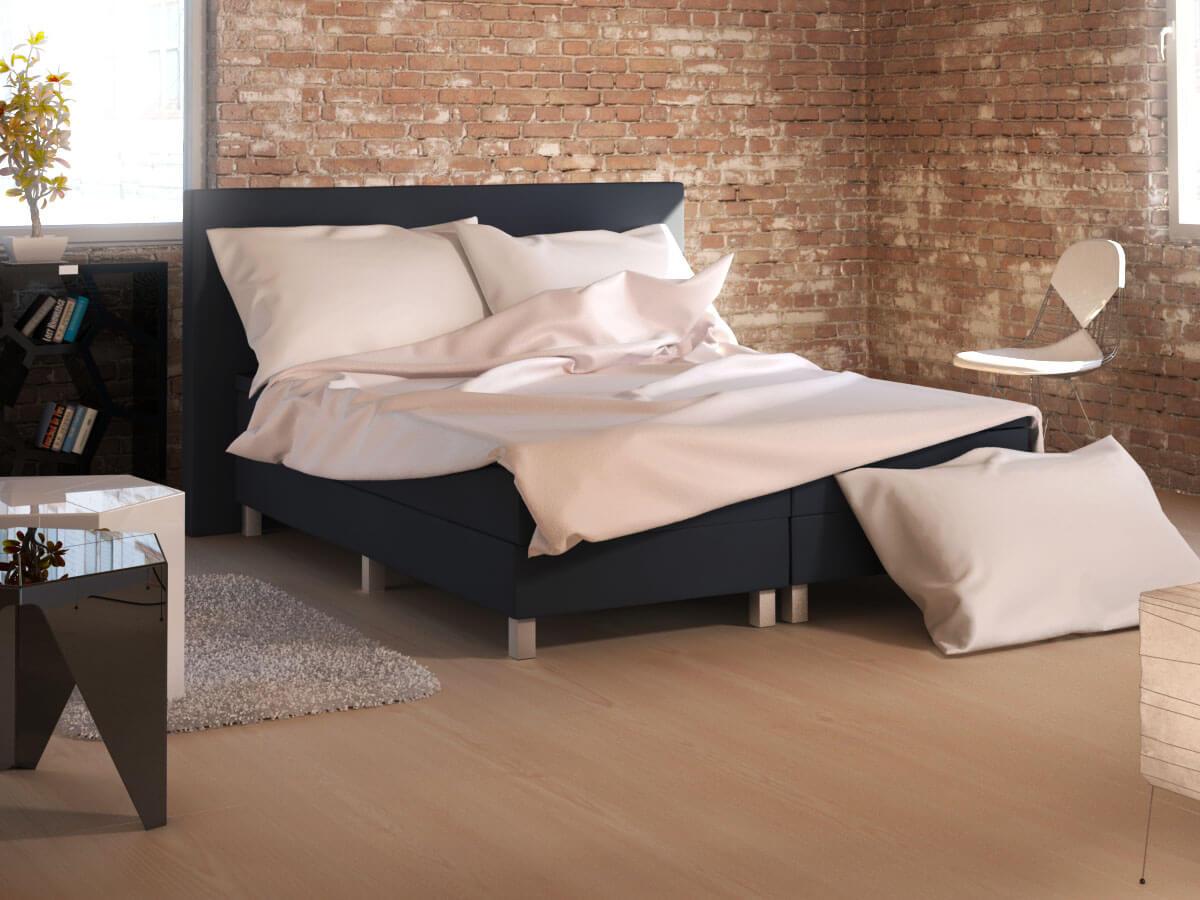 Paars idee slaapkamer - Deco romantische ouderlijke kamer ...