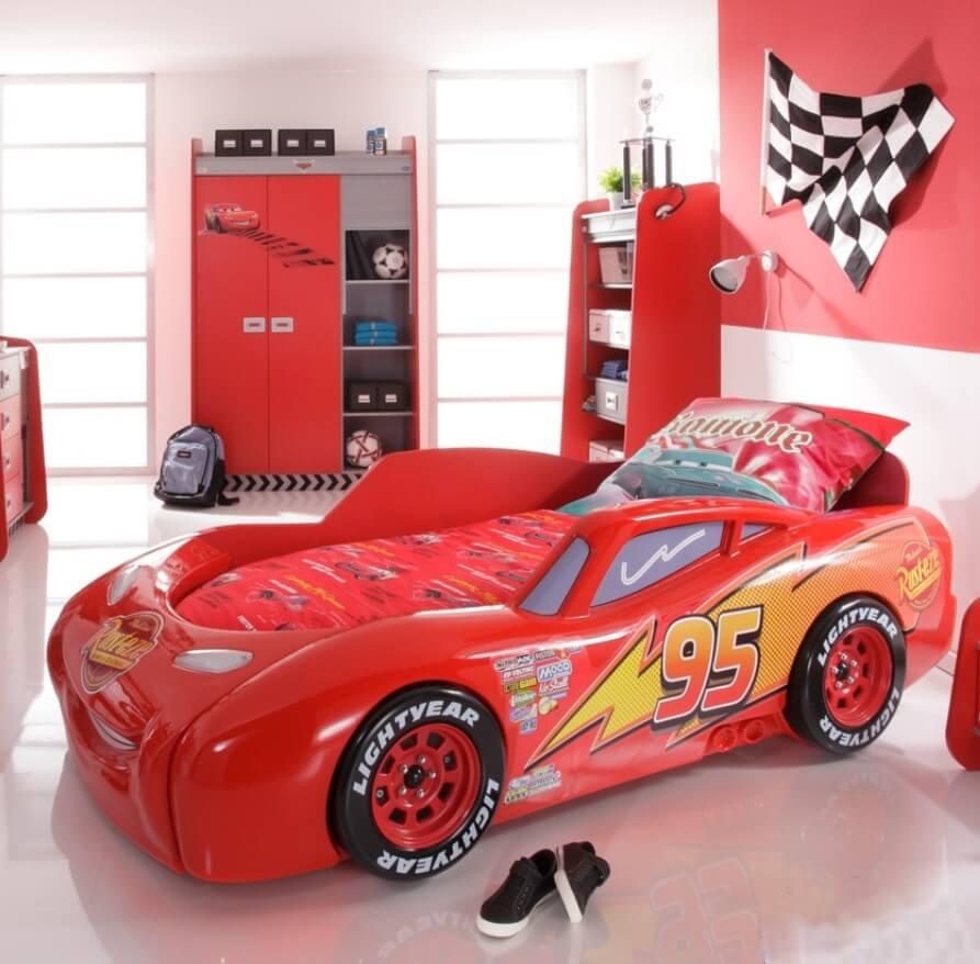 Aparte kinderbedden inspiratie voor bijzondere kinderbedden - Slaapkamer autos ...