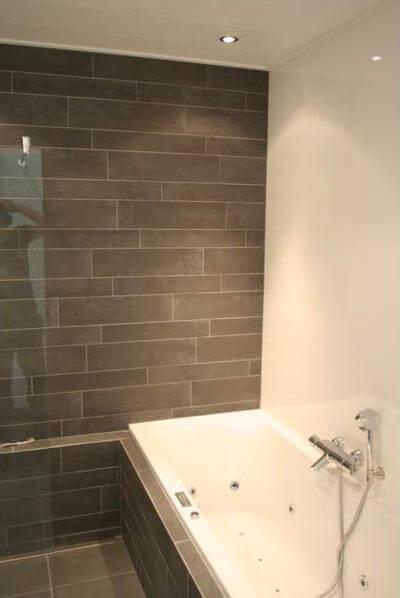 Moderne Badkamer Zonder Tegels: Badkamer norma grando keukens bad.