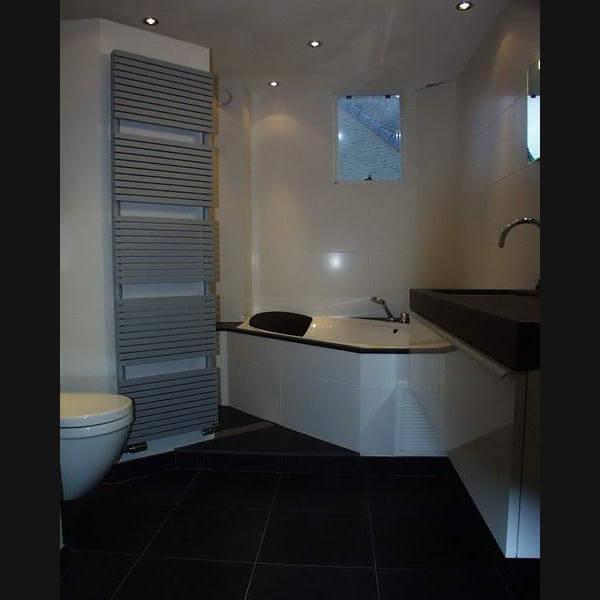 Wandtegels badkamer grijs home design idee n en meubilair inspiraties - Moderne badkamer badkamer ...