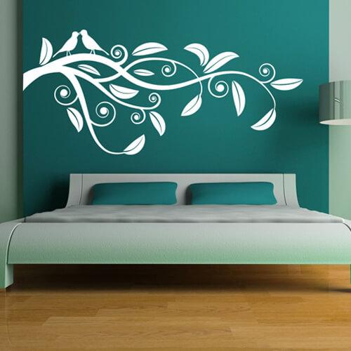 Personaliseer je slaapkamer met muurstickers