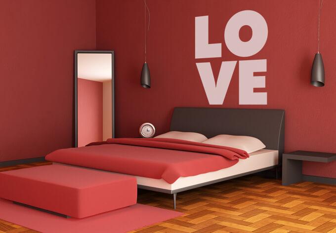 Muurstickers voor in je slaapkamer idee n en inspiratie ikwoonfijn - Nacht kamer decoratie ...