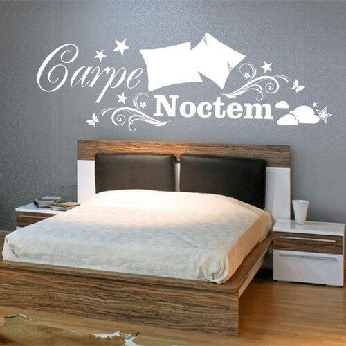 Muurstickers voor in je slaapkamer - ideeën en inspiratie | Ikwoonfijn