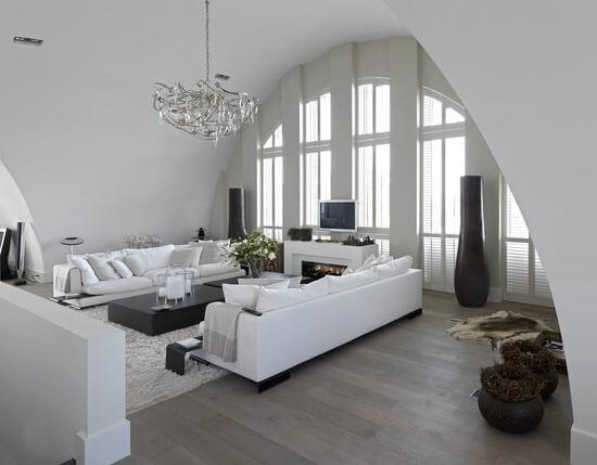 Interieur Woonkamer Witte