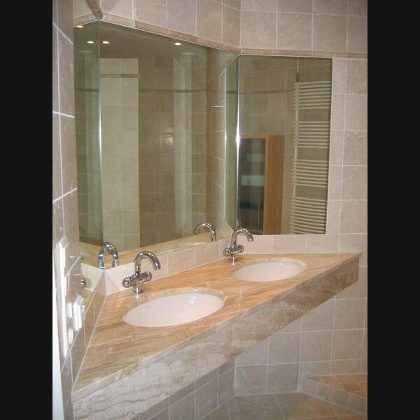... badkamer van natuursteen? Wat inspiratie voor natuurstenen badkamers