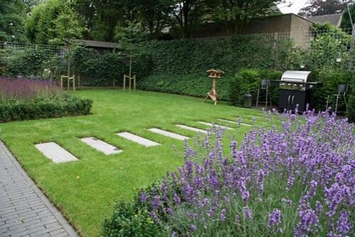 Achtertuin voorbeelden inspiratie voor achtertuinen for Tips inrichten nieuwbouwwoning
