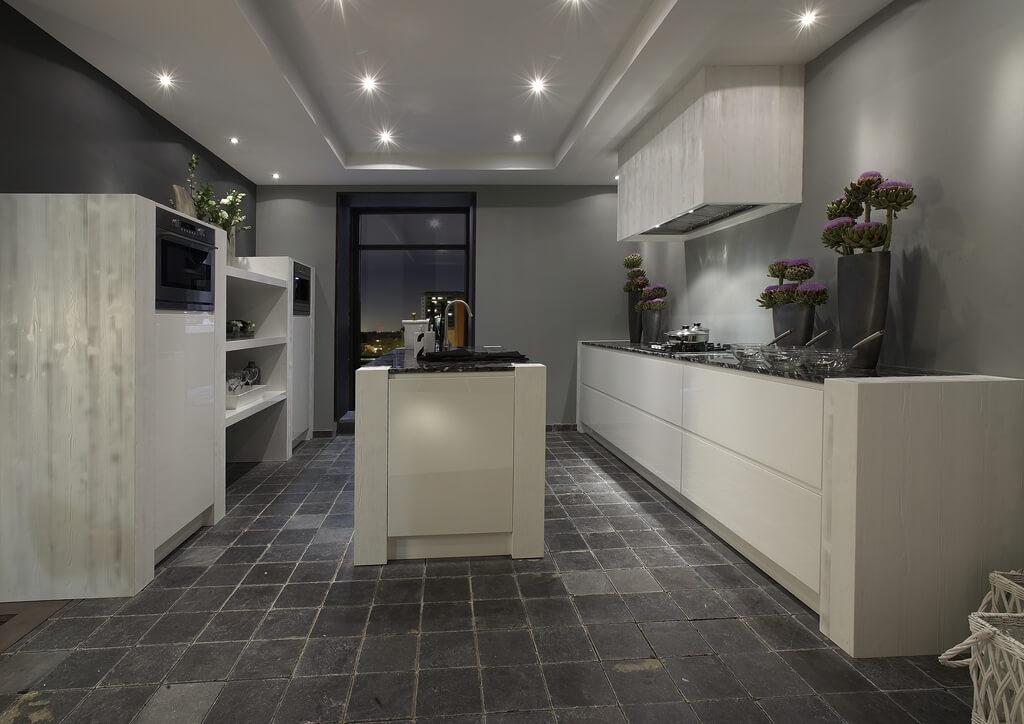 sfeervolle houten keuken