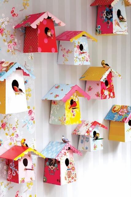 vogelhuisjes babykamer