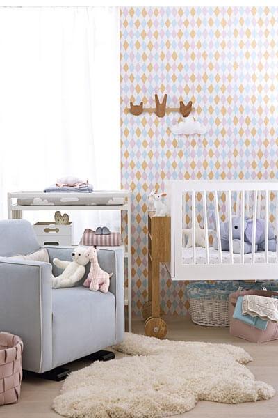 Sandberg behang voor de kinderkamer ik woon fijn - Behang voor trappenhuis ...