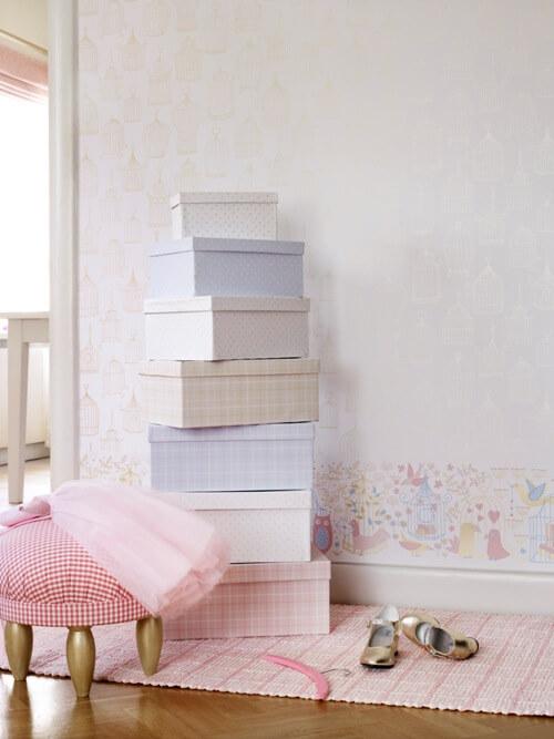Behang Kinderkamer Scandinavisch : Kinderkamer behang