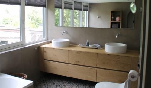 Betonlook badkamers - inspiratie op ikwoonfijn.nl