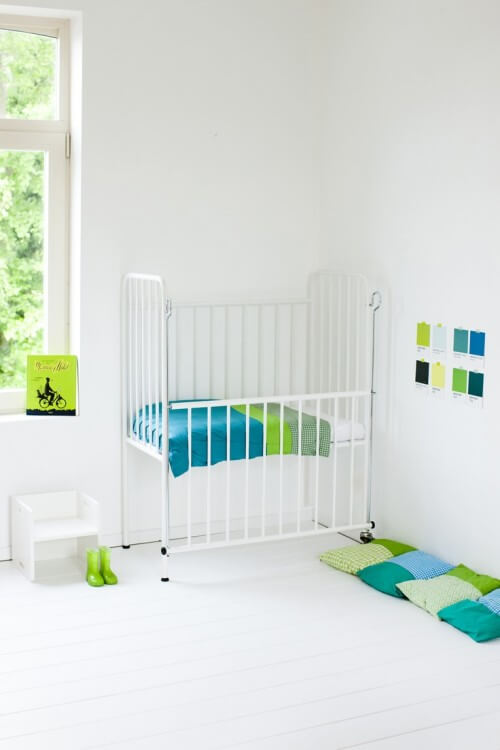 Lichte babykamer