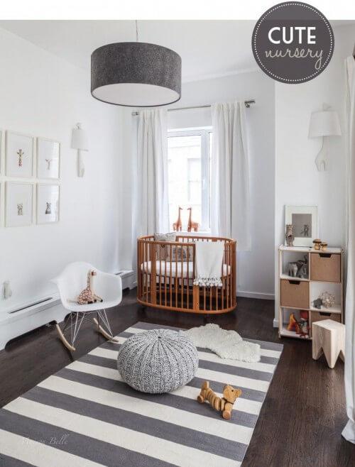 Babykamer grijs