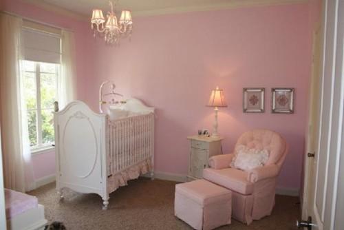 Ideeen Roze Kinderkamer : Babykamer roze enkele voorbeelden van roze babykamers