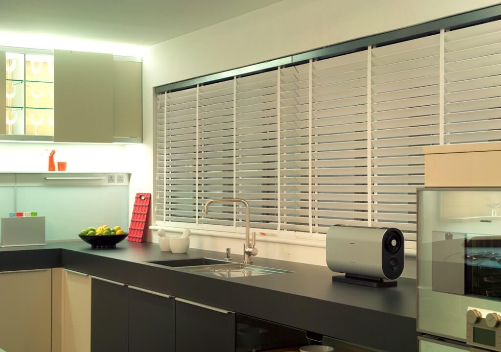 Raamdecoratie voor keuken