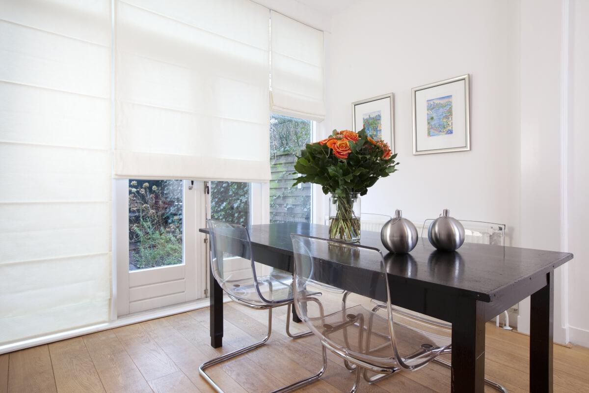 Raamdecoratie woon- en eetkamer 3