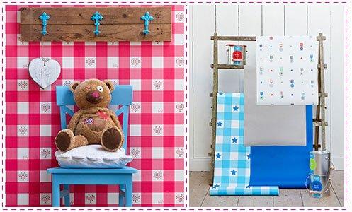 Behang Babykamer Romantisch : Rainbow romance een combinatie van grafisch en romantisch