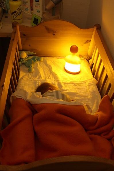 Nachtlampje babykamer