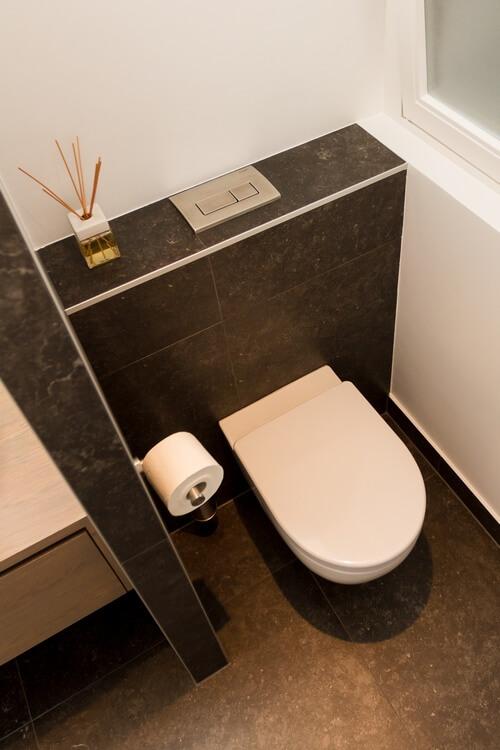 Luxe toilet