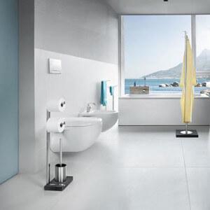 Toiletrolhouders: Blomus toiletbutler Menoto gepolijst rvs
