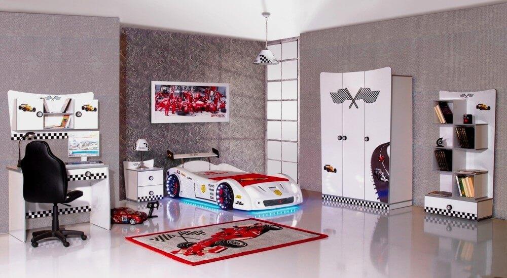 Formula 1 Racekamer