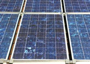 Polykristallijn zonnepanelen