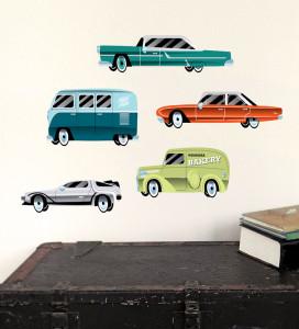 auto muurstickers