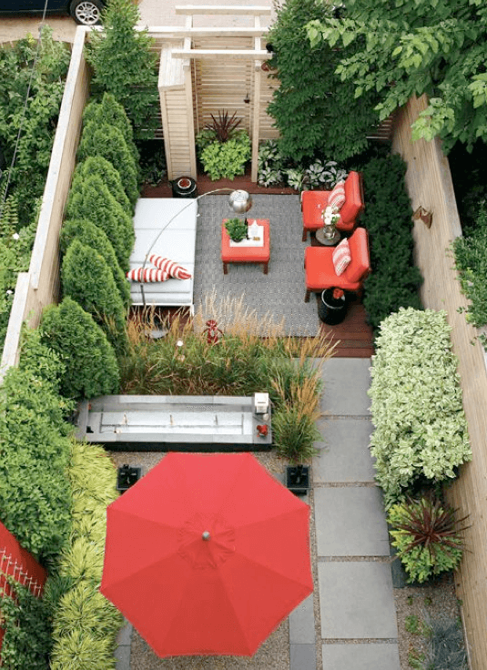 Kleine tuin inrichten 10 tips voor de inrichting for Outdoor garden ideas for small spaces