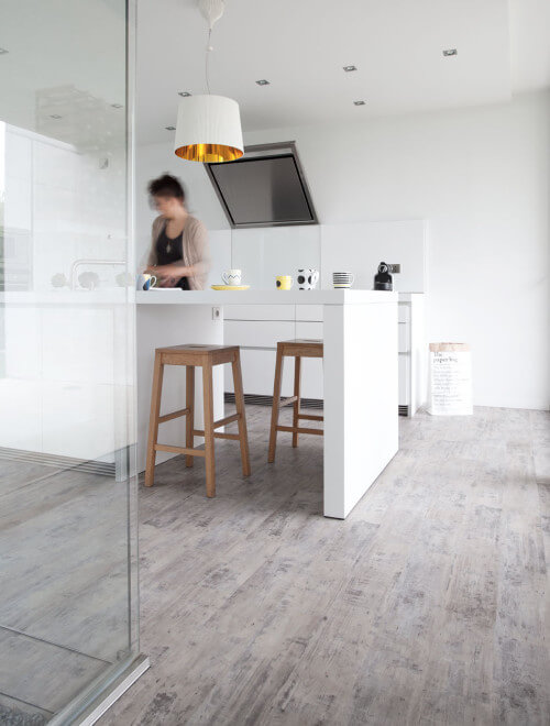 Woonkamer zelfklevende PVC vloer