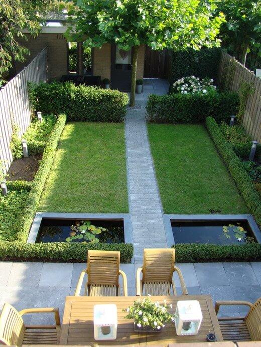Onwijs Kleine tuin inrichten? 10 tips voor de inrichting! AM-71