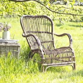 Tuinidee n vele voorbeeldtuinen voor uw inspiratie - Woonkamer rotan voor veranda ...