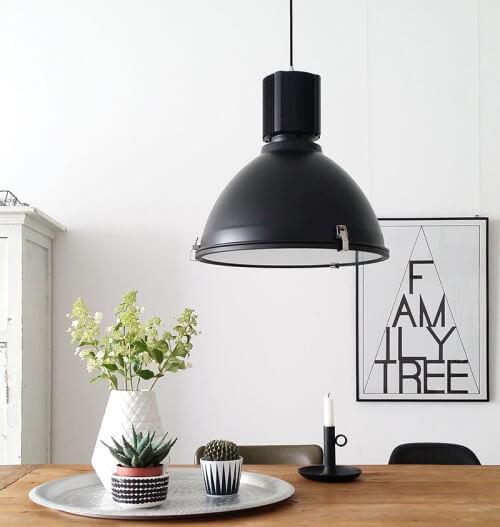 Hanglamp industriele look