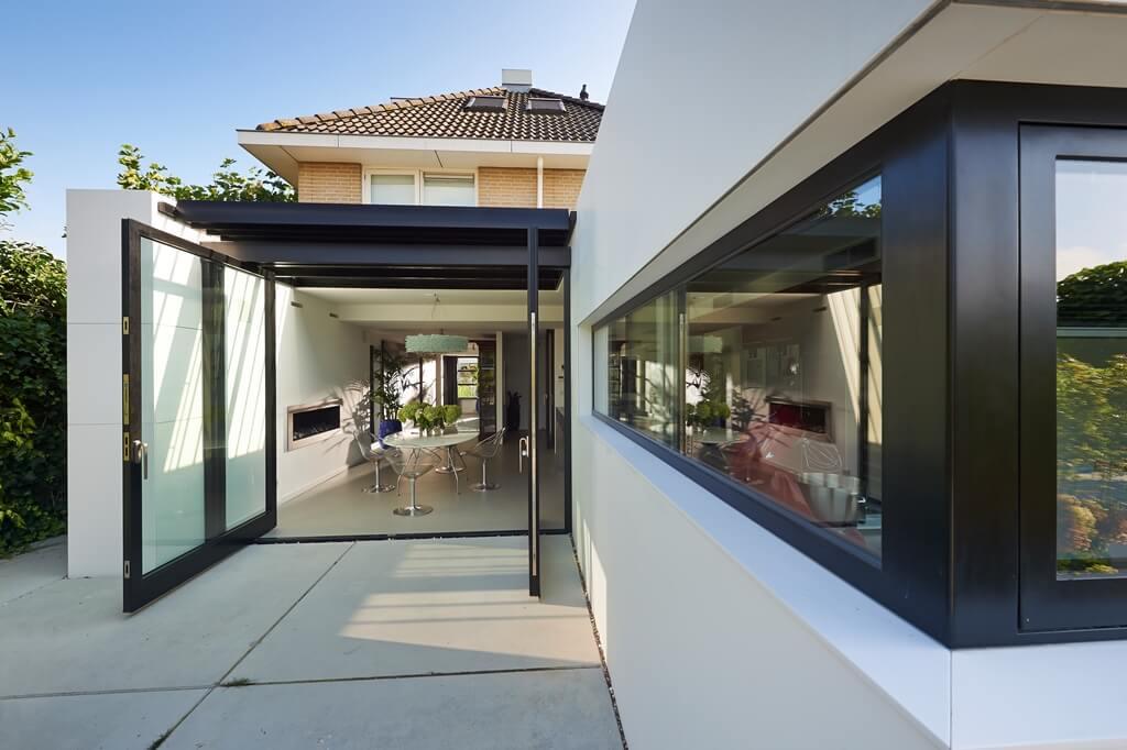 Woonkamer En Keuken Scheiden : Van doorzonwoning naar Smart Villa ...
