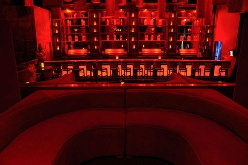 bar met rode verlichting - ter inpiratie