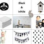Zwart wit in de kinderkamer