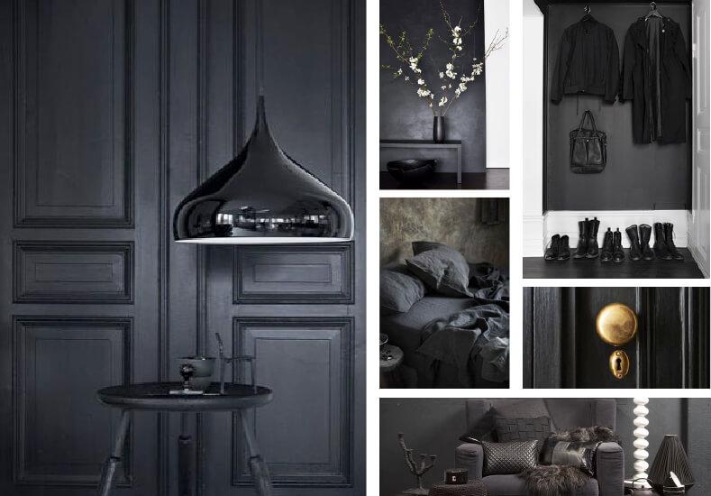 Trend; donkere interieurs ik woon fijn