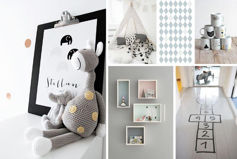 Trendspot de scandinavische kinderkamer for Decoratie hertengewei