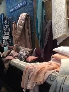 Geverfd gewassen linnen van Béatrice Laval