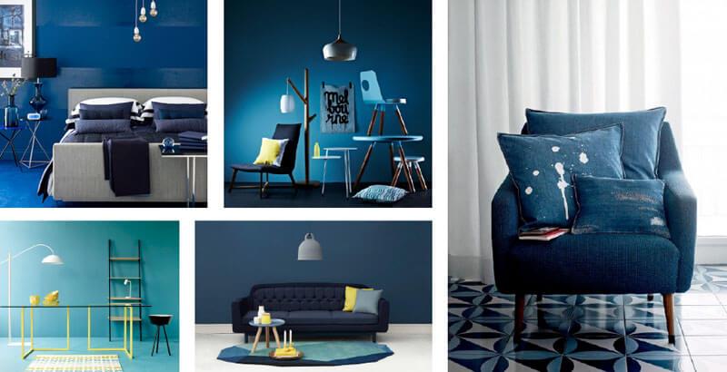 Trendkleur blauw