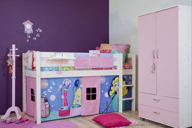 De droomslaapkamer van ieder jong meisje ik woon fijn - Schattige meisje slaapkamer ...