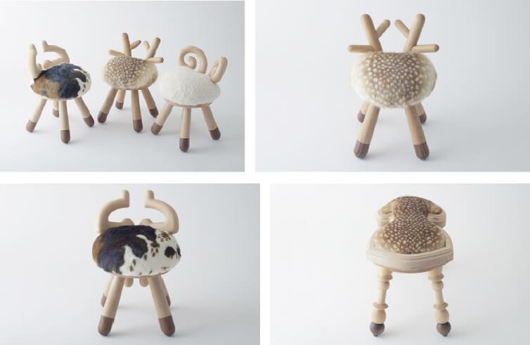 kamina & C animal seats