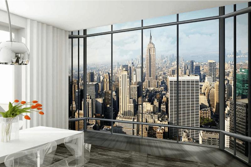 Haal de wereld in huis met fotobehang ik woon fijn - Sfeer new york ...